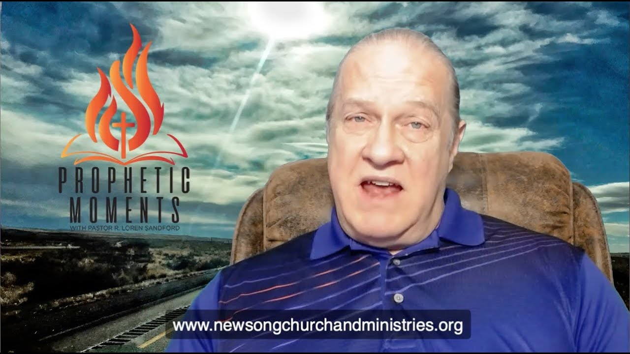 PREPARING FOR THE COMING OUTPOURING -  R. Loren Sandford with the Daily Word in the Crisis