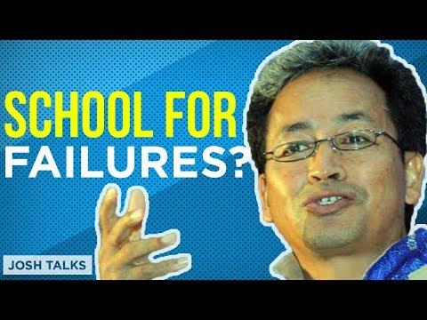The Story of Ladakh's '3 IDIOTS School'! | Sonam Wangchuk | Motivational Hindi Video