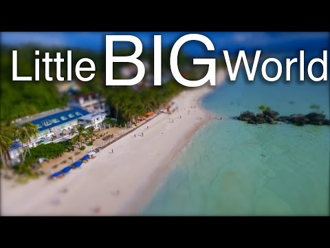 LITTLE BIG WORLD AUSTRALIA + PHILIPPINES | TILT SHIFT (DJI PHANTOM 4 DRONE)