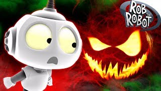 Halloween 2019 Special | SCARY PUMPKIN MONSTER | Preschool Learning Videos | Rob The Robot