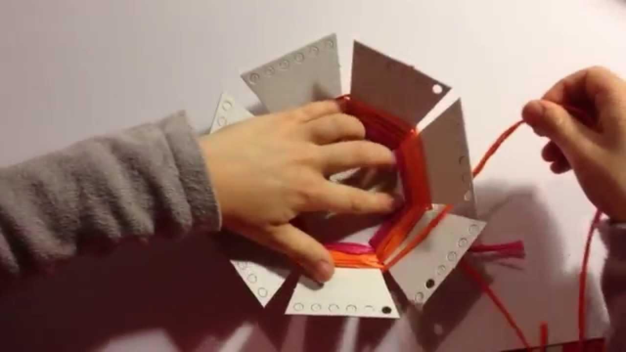 Fabrication De Panier Tissé : Corbeilles color?es