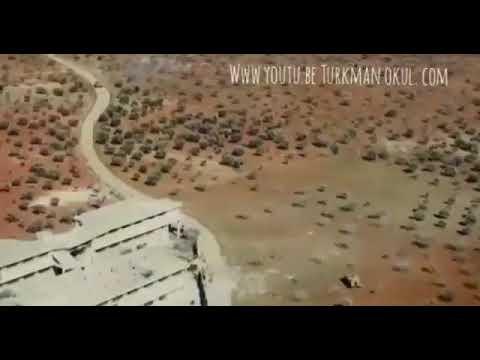 مطارده بين دبابه روسية  ومدرعة تركية على طريقة افلام هوليود في ادلب بسوريا