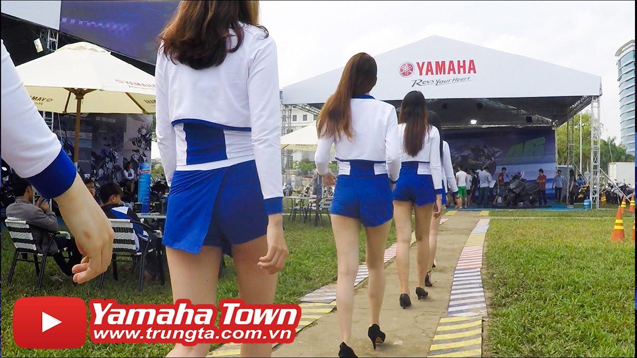 Xe và Người đẹp bốc lửa tại Đại hội Exciter ▶ Yamaha Y-Riders