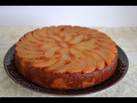 gâteau-au-yaourt-aux-poires-facile
