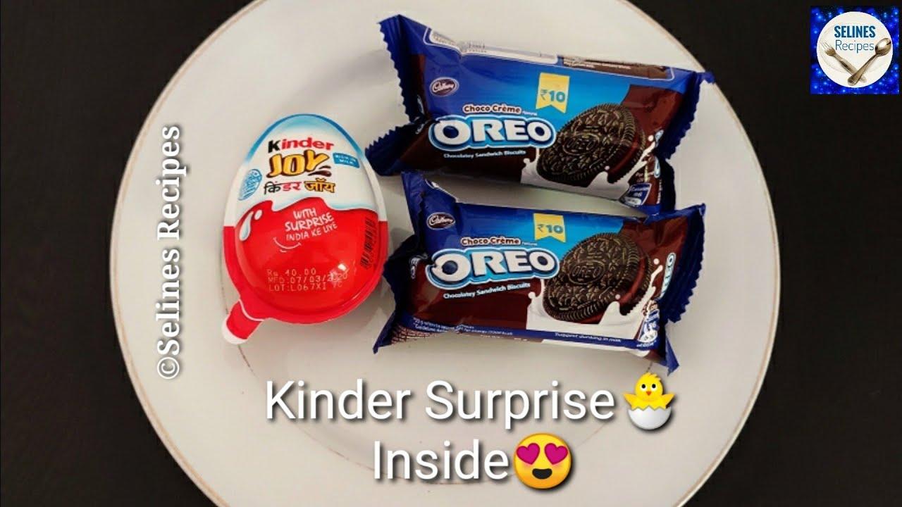 Chocolate Oreo & Kinderjoy Recipe | Oreo Mug Cake | Oreo Cake Recipes | Chocolate Cake Recipes |