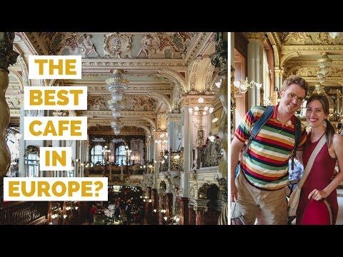 Best cafe in Europe? New York Café for dessert in Budapest, Hungary