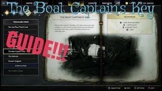 God of war (The Boat Captain's Key treasure) Guide!!!