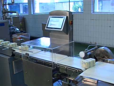 Online Check Weigher for Food, Pharma and Dairy Industry