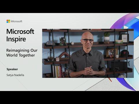 Microsoft Inspire 2020: CEO Satya Nadella