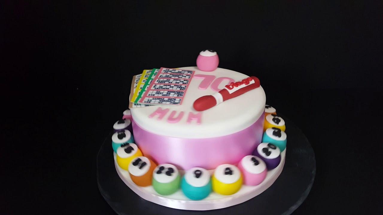 simply cakes by caroline huddersfield bingo birthday cake youtube
