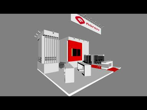 Trade fair stand Animation