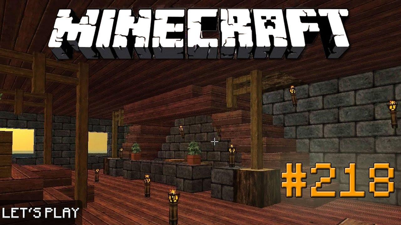 Minecraft let 39 s play 218 the final rezeption deutsch - Minecraft inneneinrichtung ...