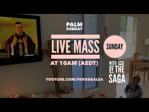 Palm Sunday Mass Live