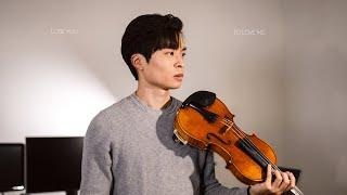 Lose You To Love Me - Selena Gomez - Violin cover by Daniel Jang