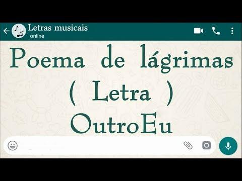 Poema de lágrimas - Letra - OutroEu
