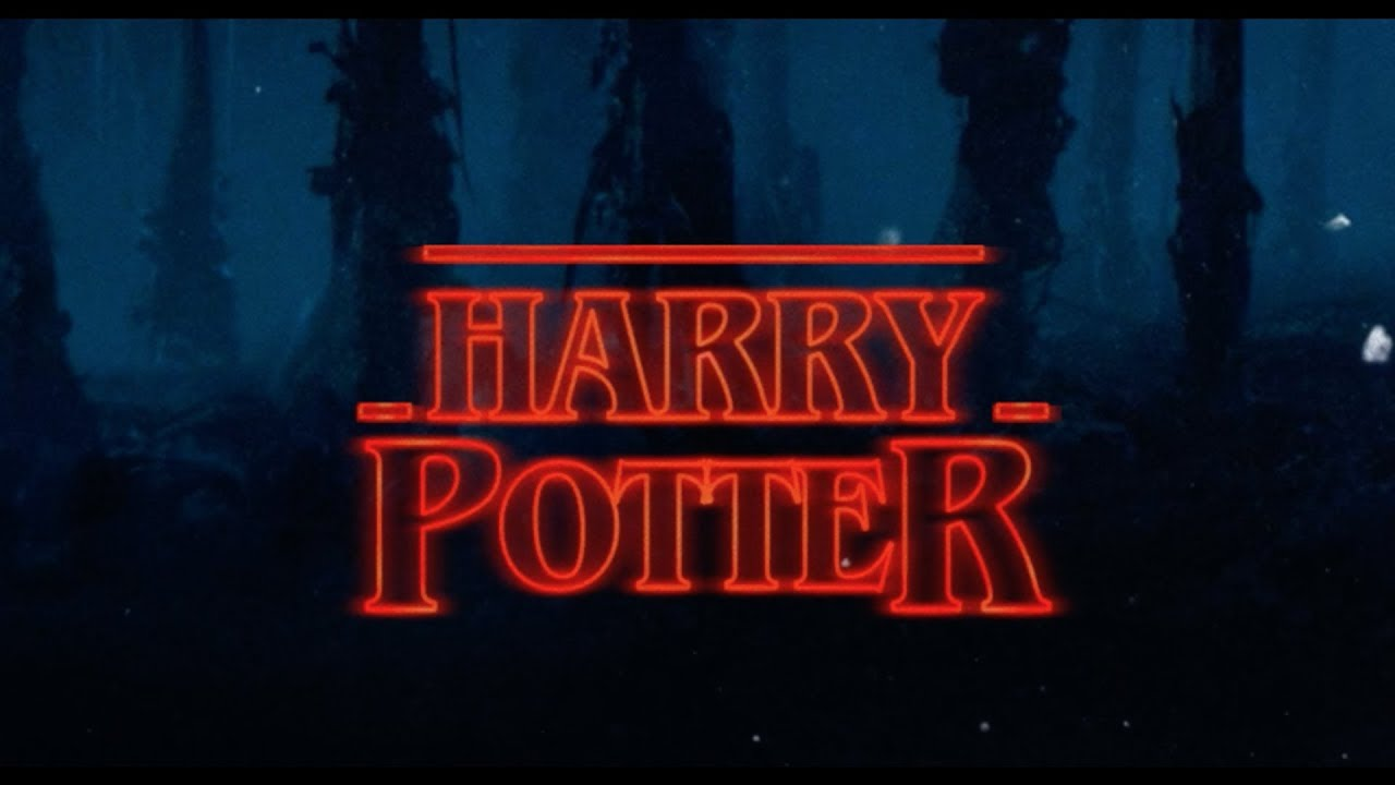 harry potter stranger things style youtube. Black Bedroom Furniture Sets. Home Design Ideas
