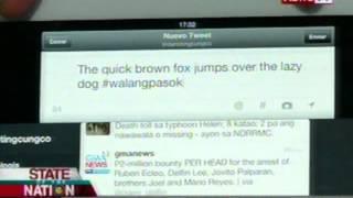 Palasyo, itinakda ang unified #walangpasok hashtag para sa class suspension announcements sa twitter