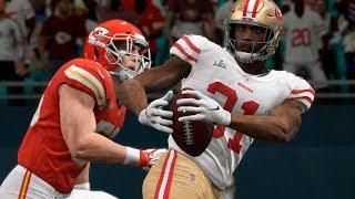 NFL Superbowl 54 - Kansas City Chiefs vs San Francisco 49ers Full Game Highlights | NFL Live Madden