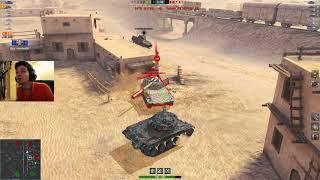 WoT Blitz - Лайфхак для Т49 и ТОП позиция MAD GAMES в рандоме - World of Tanks Blitz (WoTB)