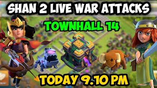 SHAN live two war attacks clash of clans tamil #shan