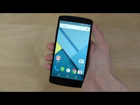 Google Nexus 5 Android 5.0.1 Lollipop - Review (4K)