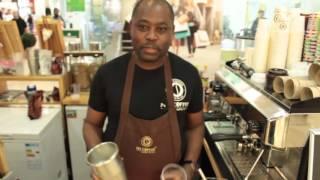 Коктейли рецепты - Пина Колада (безалкогольный) Готовим Пина Коллада на баре в кофейне или дома!