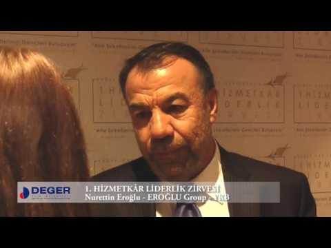 Nurettin Eroğlu - 1. Hizmetkâr Liderlik Zirvesi Röportajı