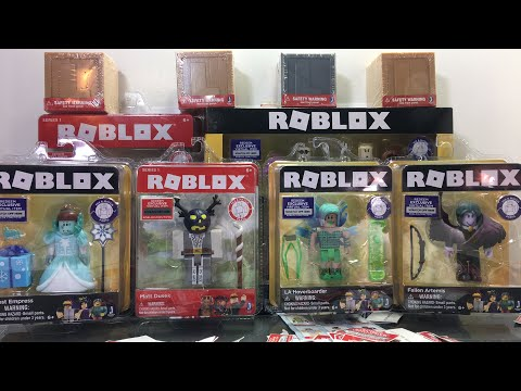 Unboxing Roblox Toys LIVE and Giving Toy Codes to Viewers