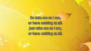 Mary J Blige Take Me As I Am, Lyrics In Video + Ringtone Download