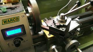 Machining an ER32 collet chuck to fit my WARCO Lathe