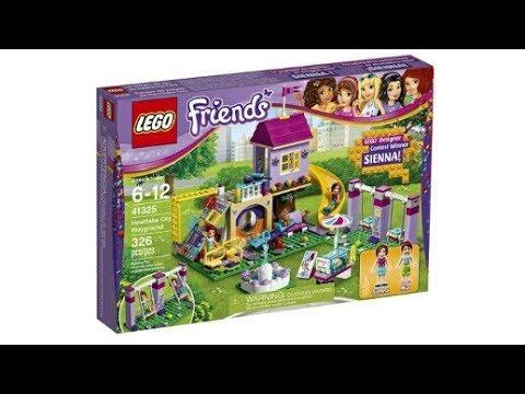 LEGO News: LEGO Friends Fan Designer, Heartlake City Playground ...