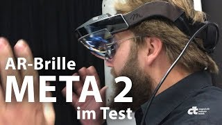 Augmented-Reality-Brille Meta 2 im Test
