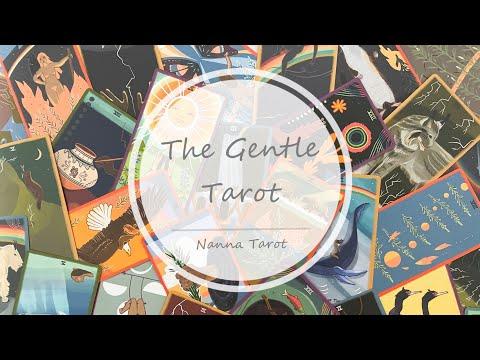 開箱  溫柔塔羅牌 • The Gentle Tarot // Nanna Tarot