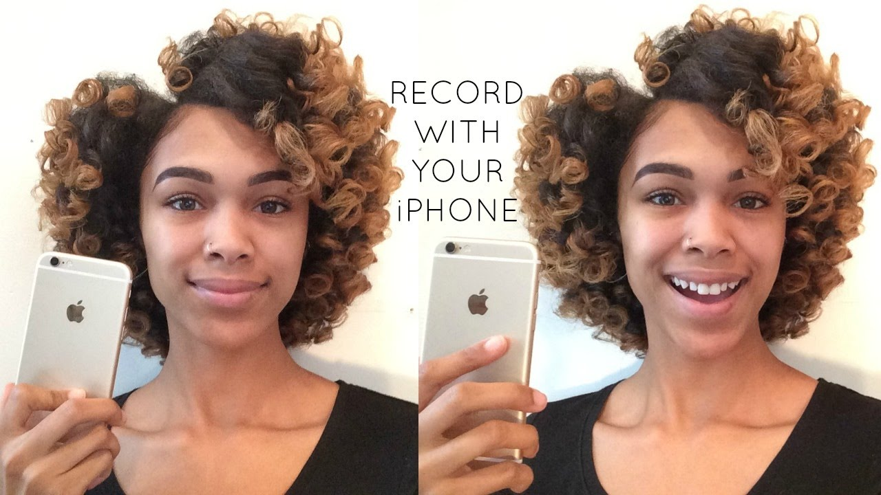 How To Record GOOD QUALITY YouTube Videos W Your IPhone Or IPad - Best hairstyle app ipad