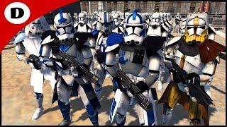HEROIC CLONE COMMANDER FINAL STAND! - Men of War: Star Wars Mod