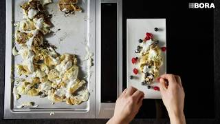 Peter Sagan presents Goat - curd Schmarrn with cranberries, ginger and Topinambur syrup