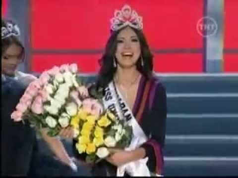Miss Universe 2007 Riyo Mori - YouTube