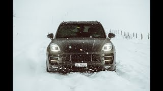SNOW DRIVE IN THE 2017 PORSCHE MACAN TURBO!