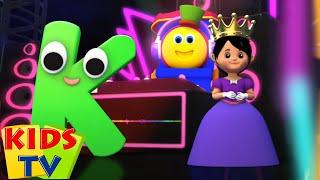 боб поезд | письмо K | песенки для детей | Kids Tv Russia | развивающий мультфильм