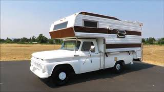 1965 Chevrolet C20 Pickup & 1975 Dolphin Camper (Old Fred)