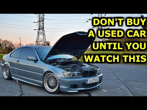 Tips on Buying a Used Car BMW E46