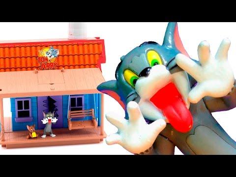 Том и Джерри. Открываем игрушечный дом.