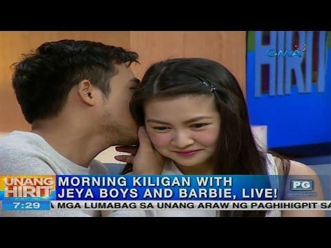 Unang Hirit: Morning kiligan with JEYA boys and Barbie Forteza