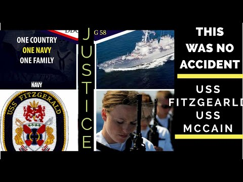 100% evidence  USS McCain USS Fitzgerald NOT and accident