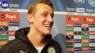 """Sierhuis lacht: """"Ben het gewend om van Feyenoord te winnen"""""""