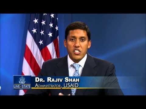 LiveAtState: USAID Administrator Shah Discusses U.S.-Africa Partnership