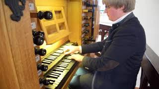 Stephane Mottoul : Allein Gott in der Höh sei ehr BWV 676 Js Bach Leffe Abbey
