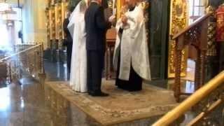 Венчание святотроицкий собор 26 04 2015