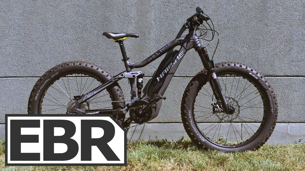 Haibike SDURO Full FatSix Video Review - Full Suspension Fat Electric Bike