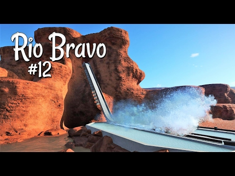 Planet Coaster (western): Rio Bravo - Ep. 12 - Clara Falls Log Flume - Part 1